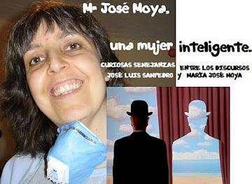 CURIOSAS SEMEJANZAS ENTRE LOS DISCURSOS DE JOSÉ LUIS SAMPEDRO Y MARÍA JOSÉ MOYA