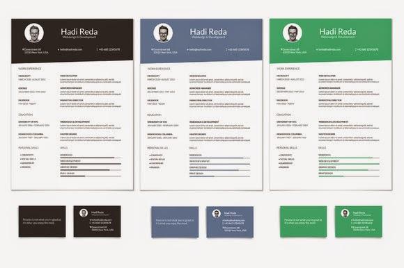 free curriculum vitae resume template