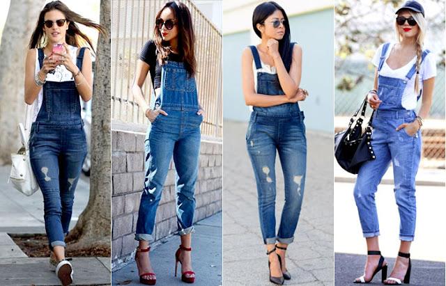 ♥ #Trend: Macacão Jeans ♥
