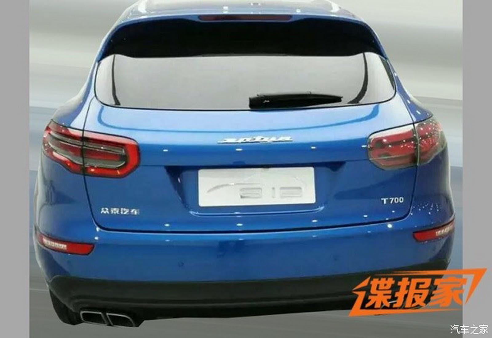 china s zotye clones porsche macan with new t700