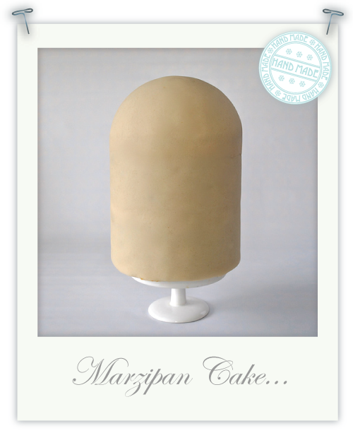 How to Marzipan bird shaped cake by Torie Jayne