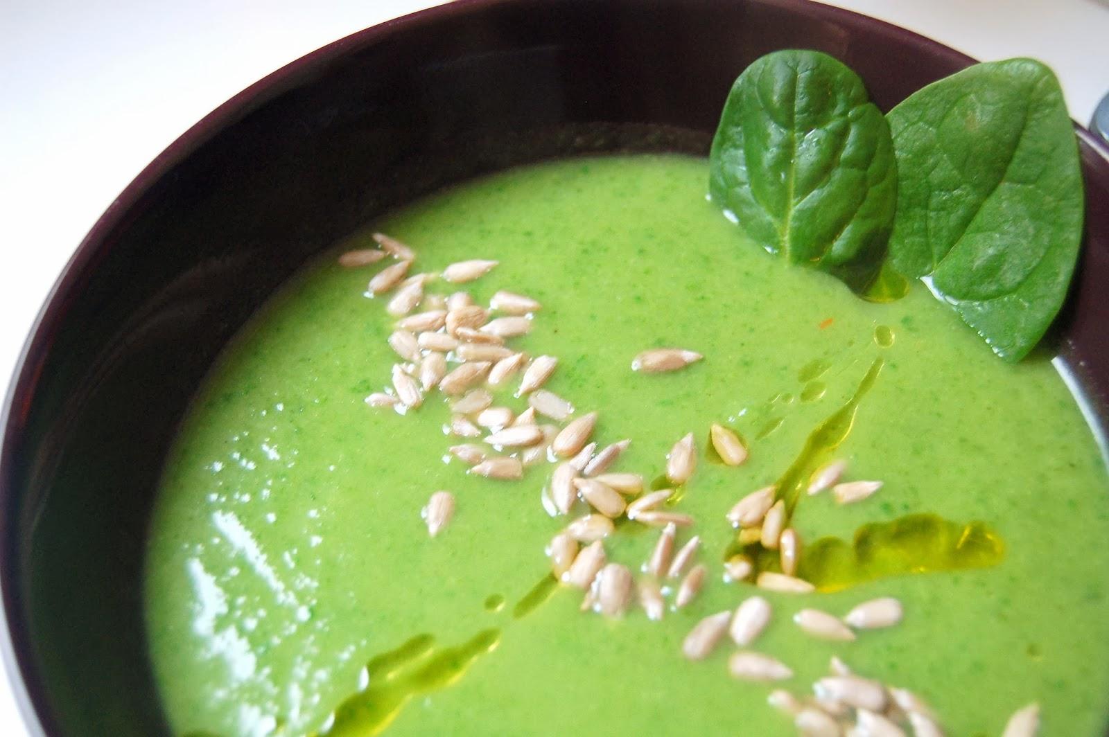 Dietetyczny Krem Z Brokula I Szpinaku