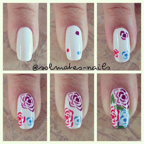 Nail art floreale | Floral nail art