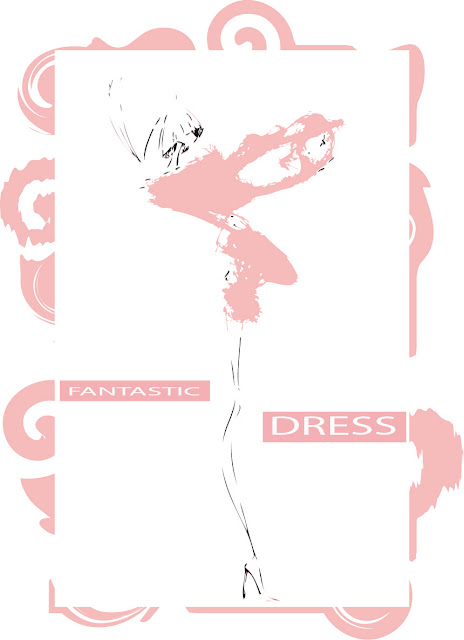 "Illustration: ""fantastic dress"""