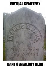 Francis S Dane headstone.  Virtual Cemetery
