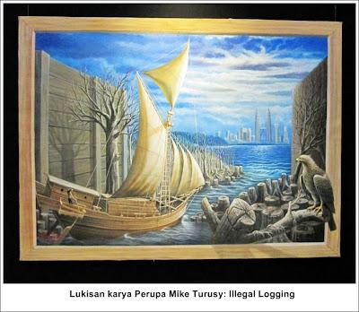 lukisan_illegal_logging