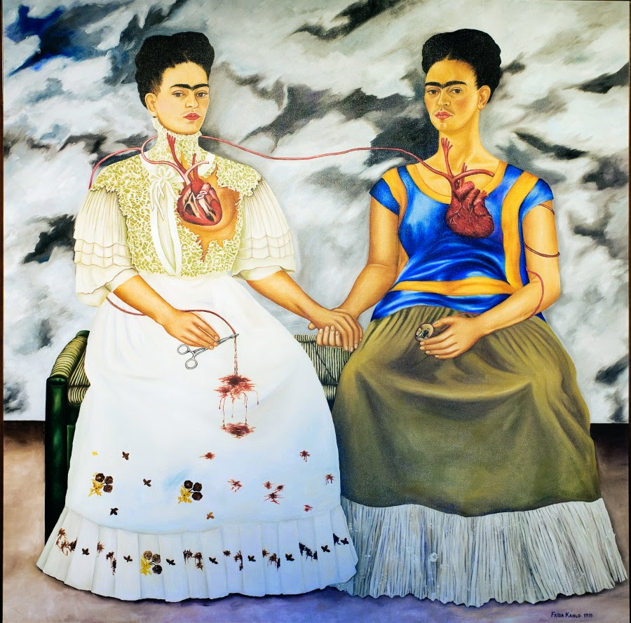 Frida Kahlo, the art and the pain