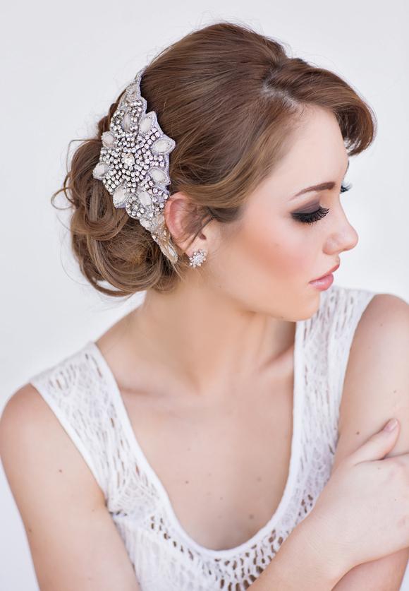 Celine Bridal Headpiece- www.perlejewellerymakeup.com.au