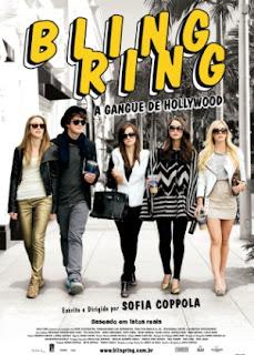 """Poster do filme """"Bling Ring: A Gangue de Hollywood"""""""