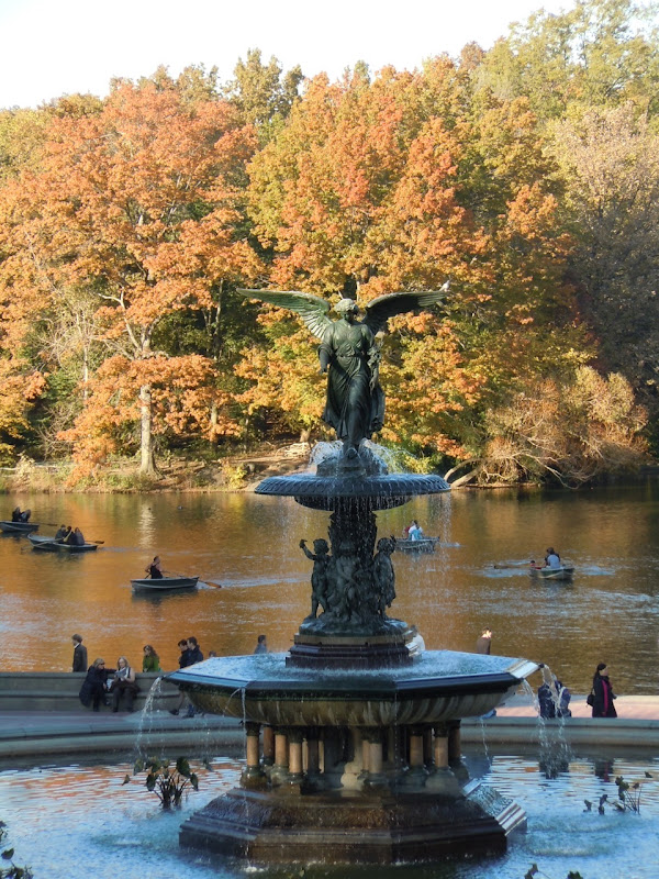 Bethesda Fountain Central Park NYC
