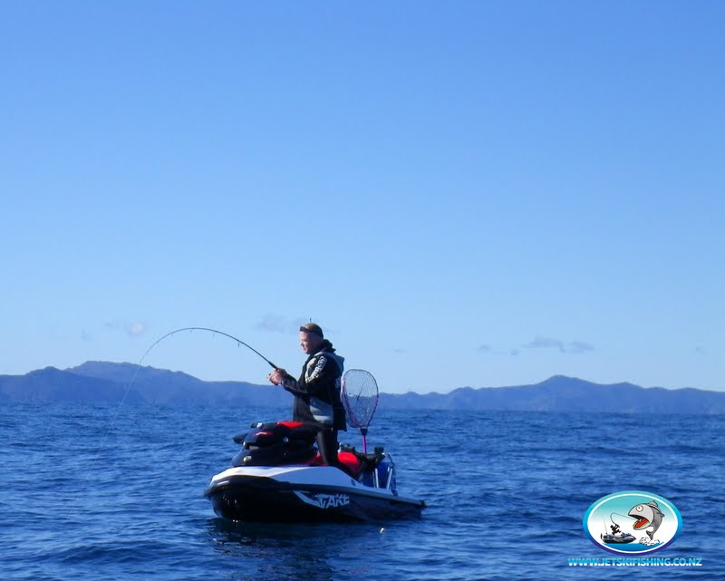 Jet ski fishing blog report 065 winter jetskifishing at for Best jet ski for fishing