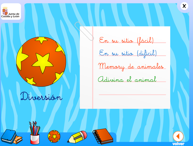 http://www.educa.jcyl.es/educacyl/cm/gallery/Recursos%20Infinity/escritorio_infantil_/castellano/book_salvajes/homediversion.html