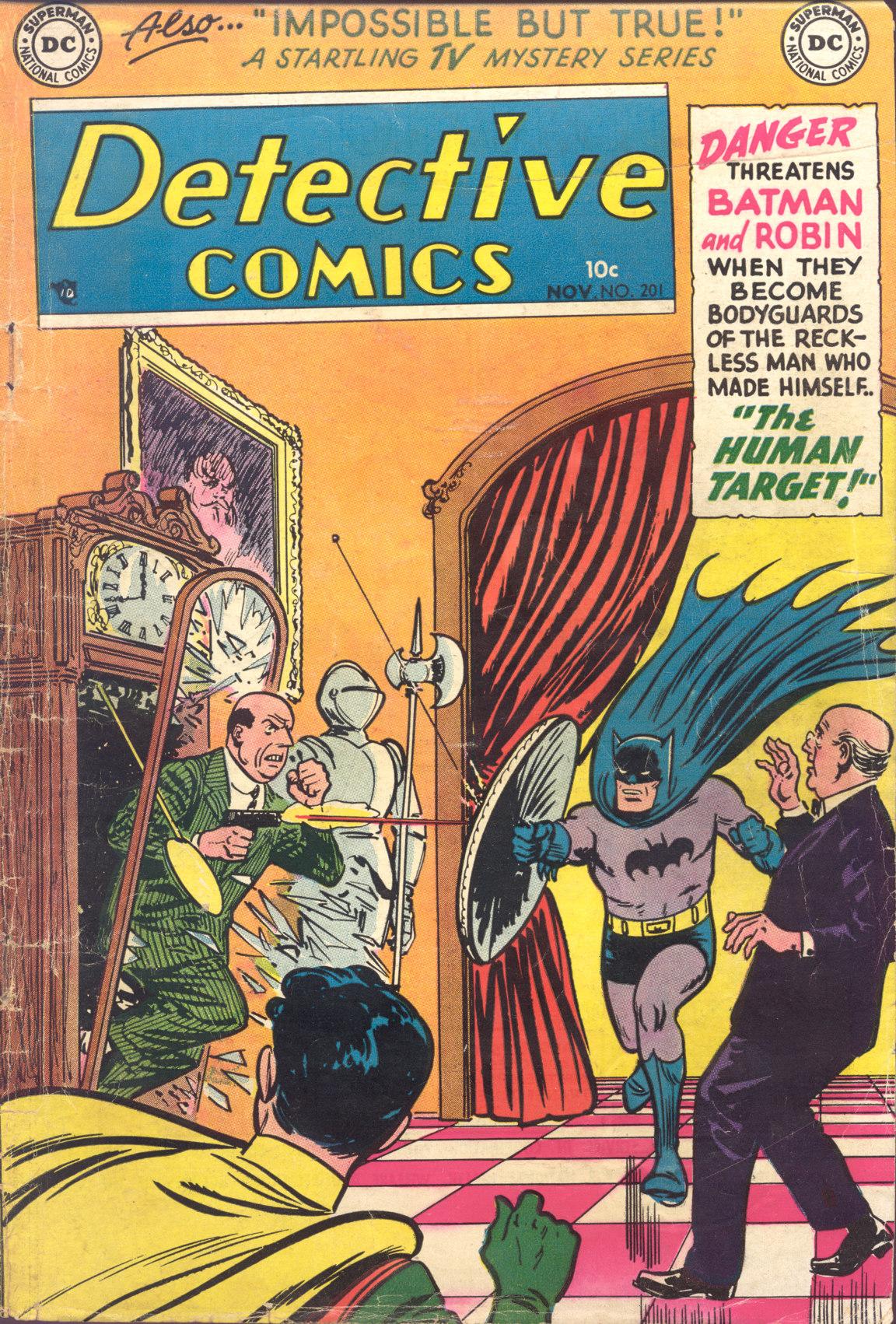 Detective Comics (1937) 201 Page 1