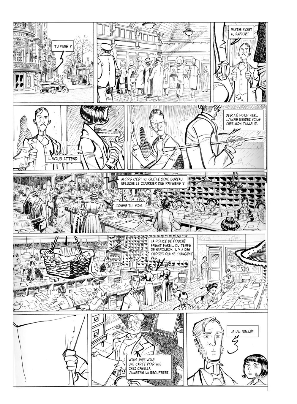 Pierre Alary  PageJpg   Comic Settings