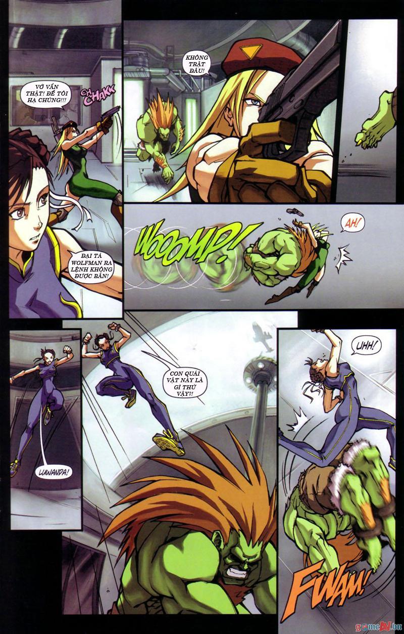 Street Fighter chap 12 - Trang 16