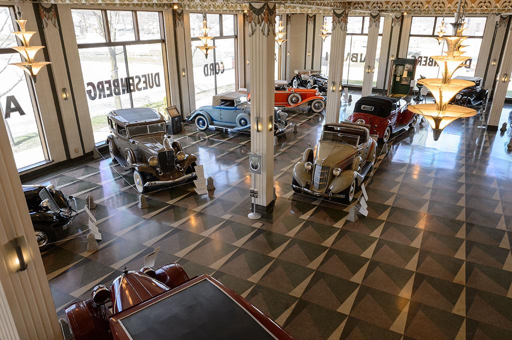 Auburn Cord Duesenberg Museum