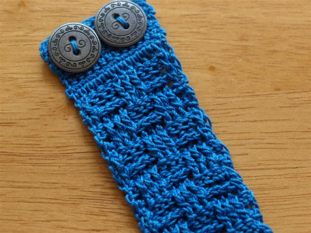 Bracelet Zipper Galleries: Crochet Bracelet Pattern