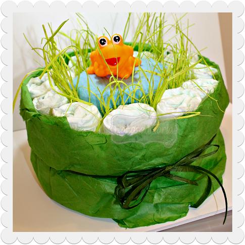 diaper cake lake
