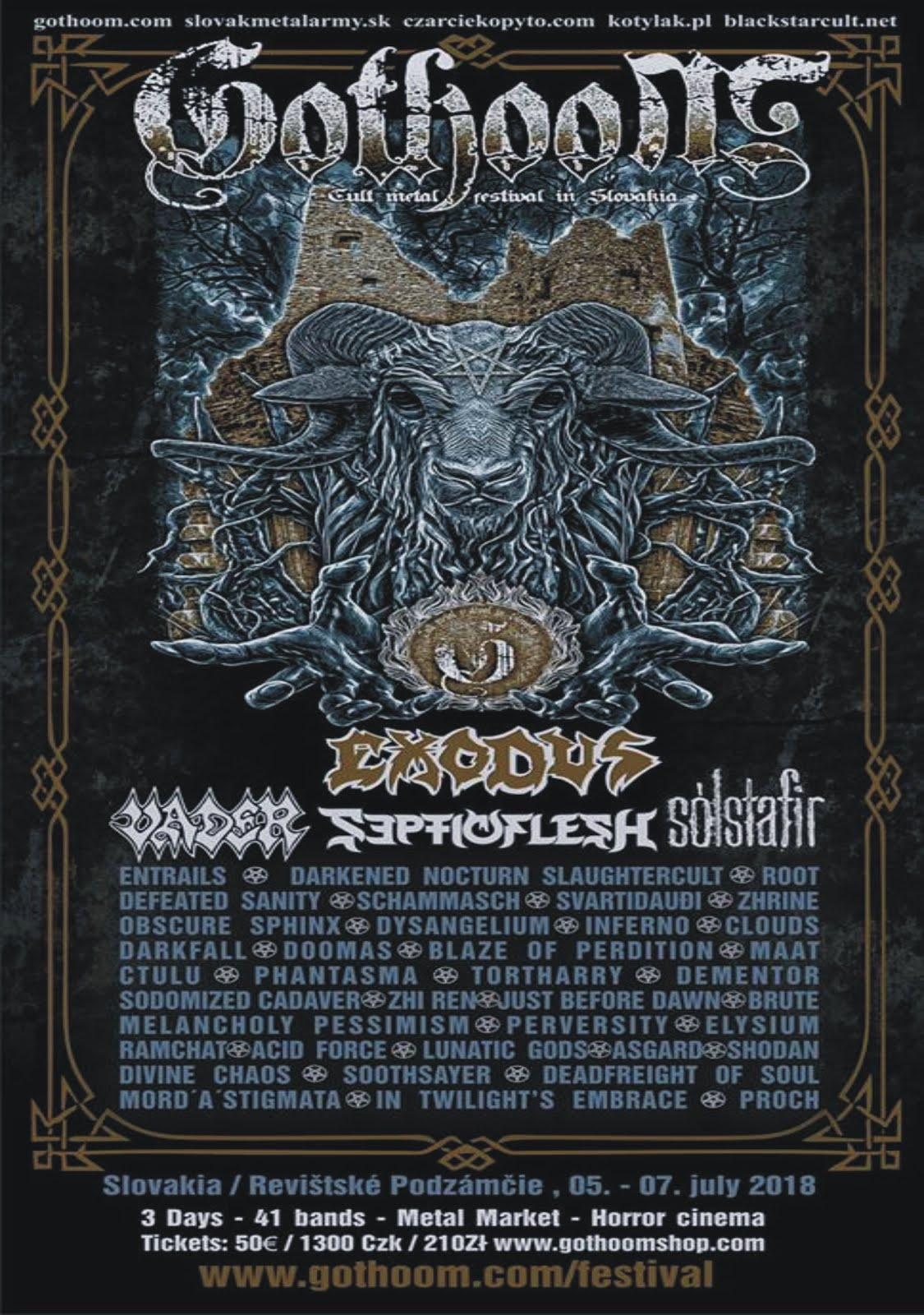 GOTHOOM OPEN AIR FEST 2018