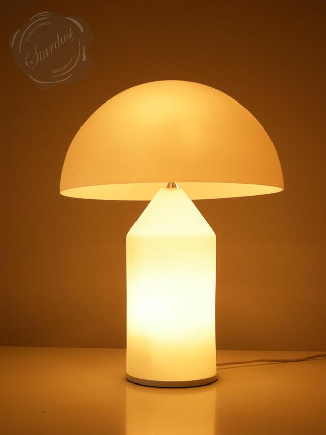 Atollo Glass Design Table Lamp Oluce Lighting Vico