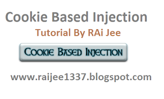 Cookie Based Injection