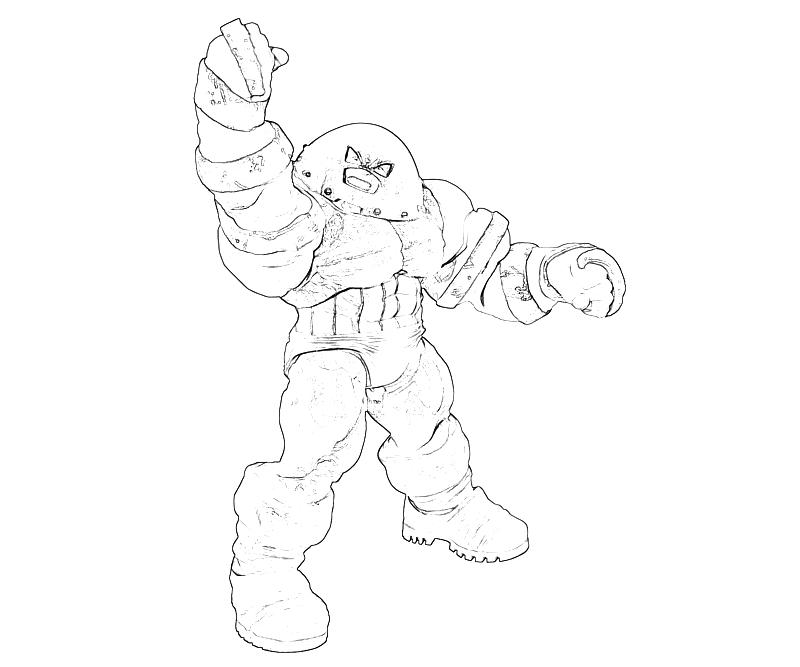 marvel juggernaut coloring pages - photo#10