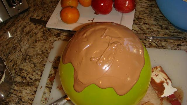 Making Chocolate Bowl