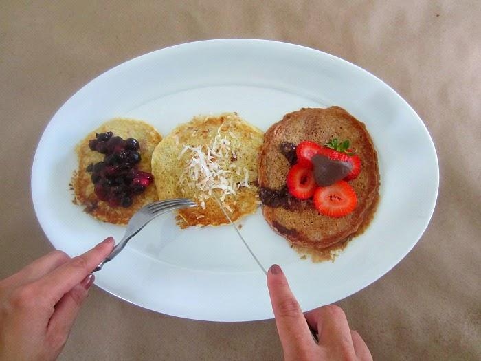 Biggest Loser Pancakes Three Ways | Club Narwhal