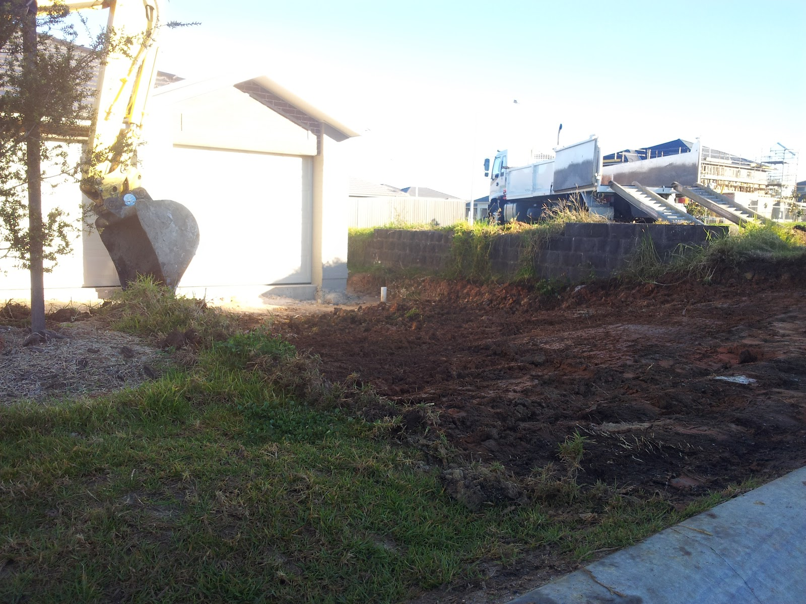 Building in gregory hills nsw with jandson homes for Steep driveway construction
