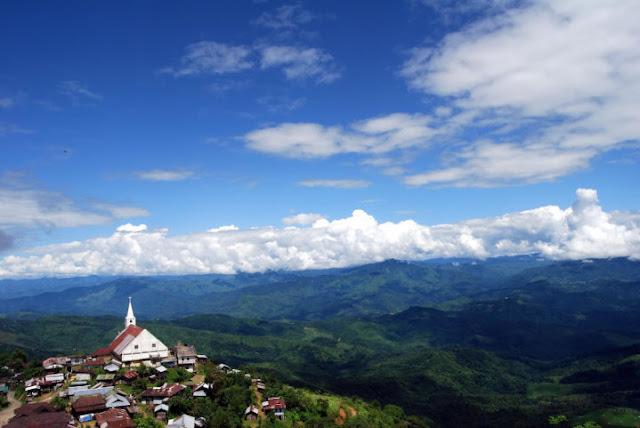A Baptist Church in Alichen, Nagaland