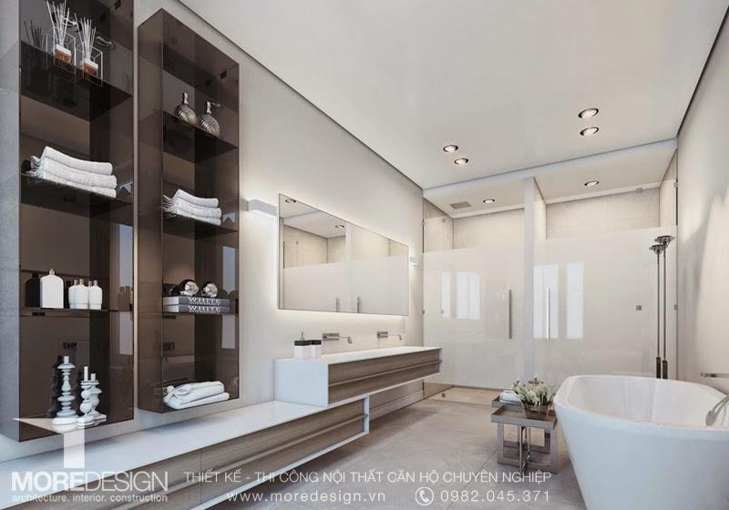 Phòng tắm và vệ sinh với tiêu chuẩn 5 sao
