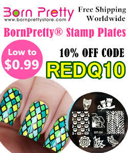 Born Pretty Store 10% off code REDQ10