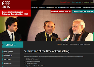 Mandatory Documents for GEEE 2015 Counseling