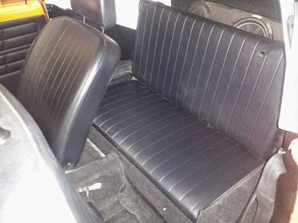 restored  vw karmann ghia convertible