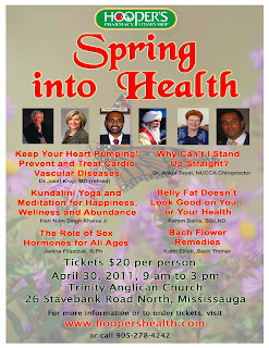 spring poster mail Spring Into Health