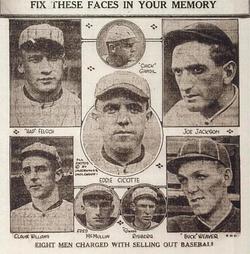 Wolfsheim naam geschiedenis - White Sox schandaal
