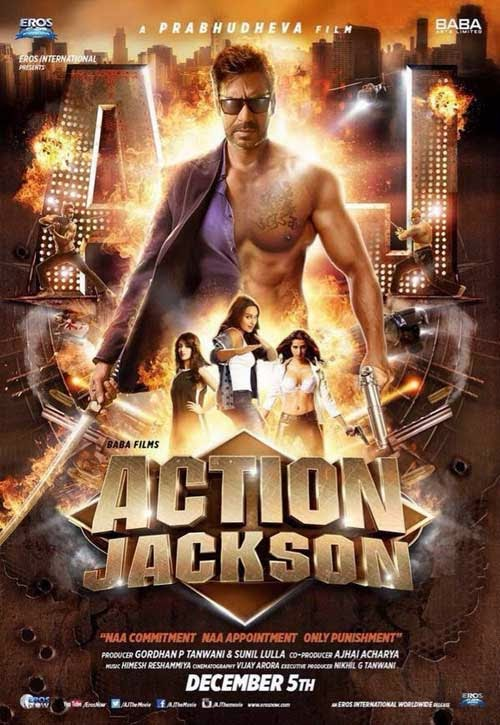 Action Jackson Movie Poster