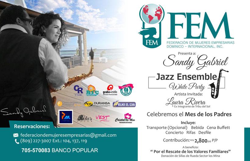 FEM Concierto con Sandy Gabriel