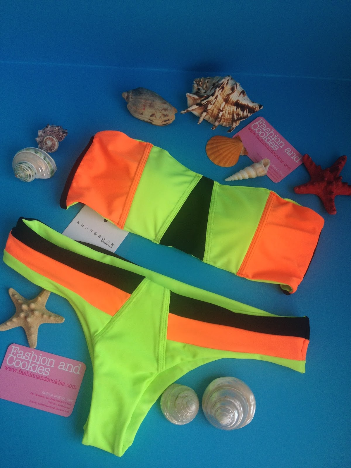 Khongboon swimwear Perugia bikini bandeau bikini on Fashion and Cookies fashion blog