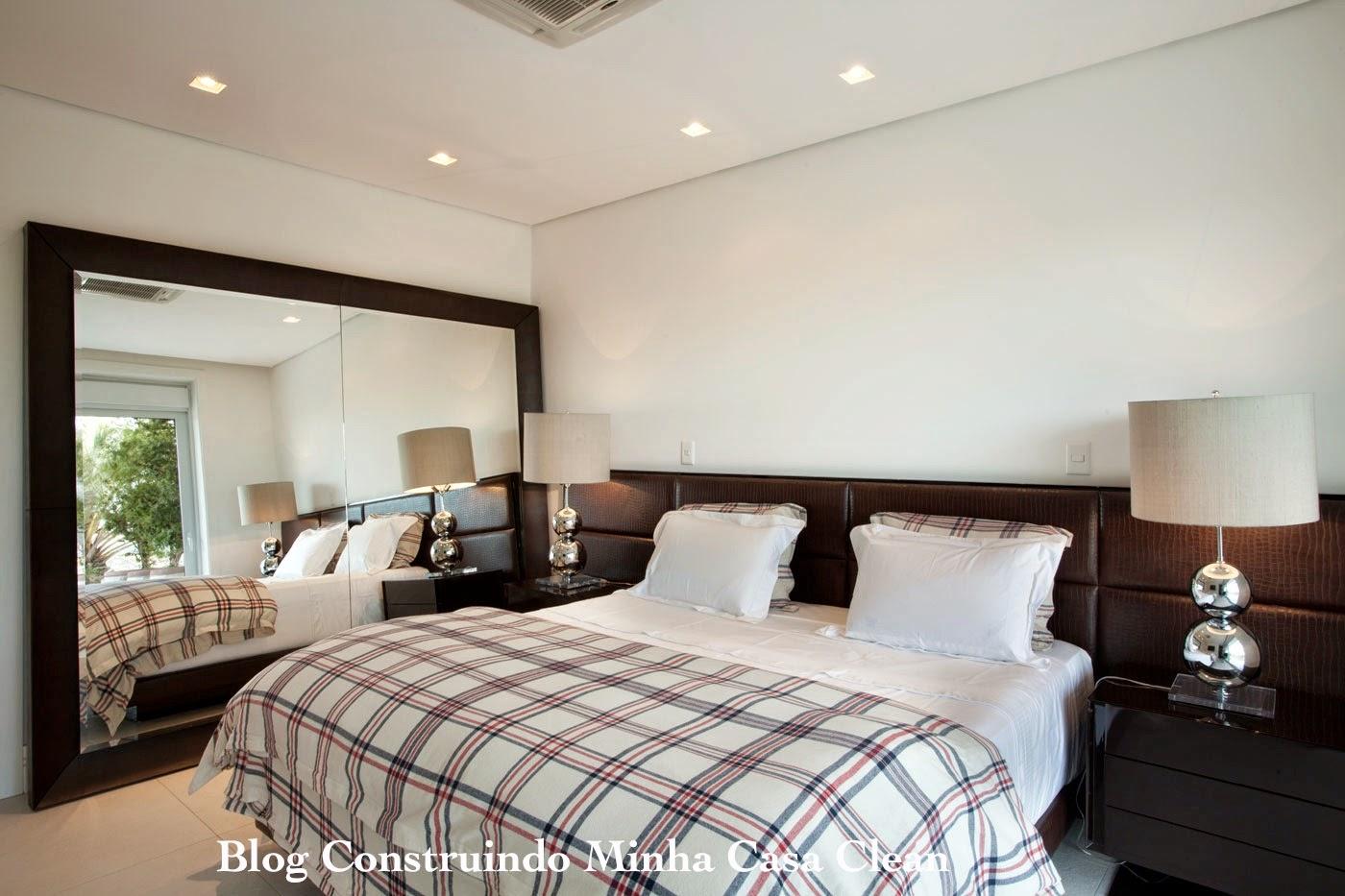 Construindo Minha Casa Clean: Casa Branca Moderna e Maravilhosa  #63473D 1400x933 Banheiro Com Detalhe Amadeirado