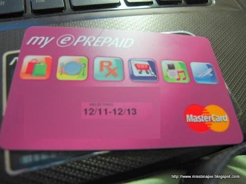 SNAP: BPI E-Prepaid Credit Card (12.23.11)