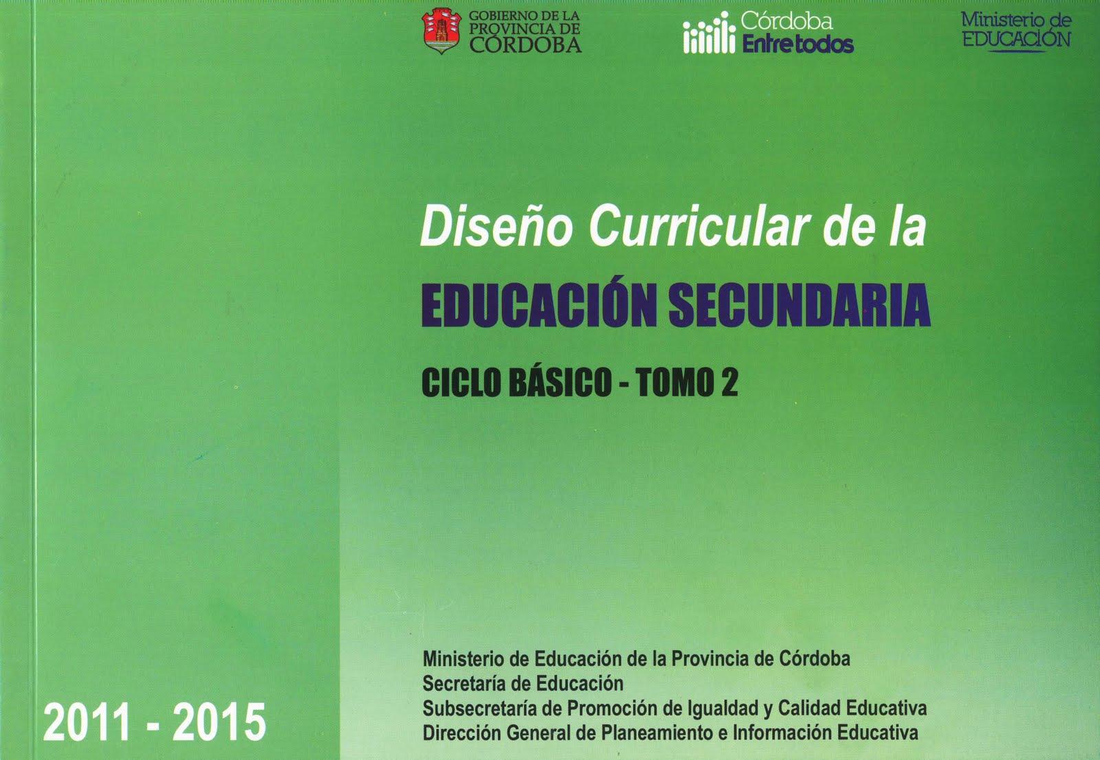 Plan provincial de lectura dise o curricular del ciclo for Diseno curricular primaria