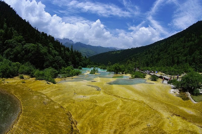 Huanglong Valley | Yellow Dragon