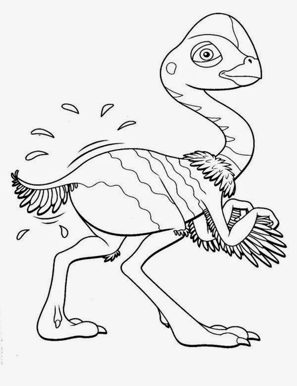 dinosaur train coloring pages dongs - photo#5
