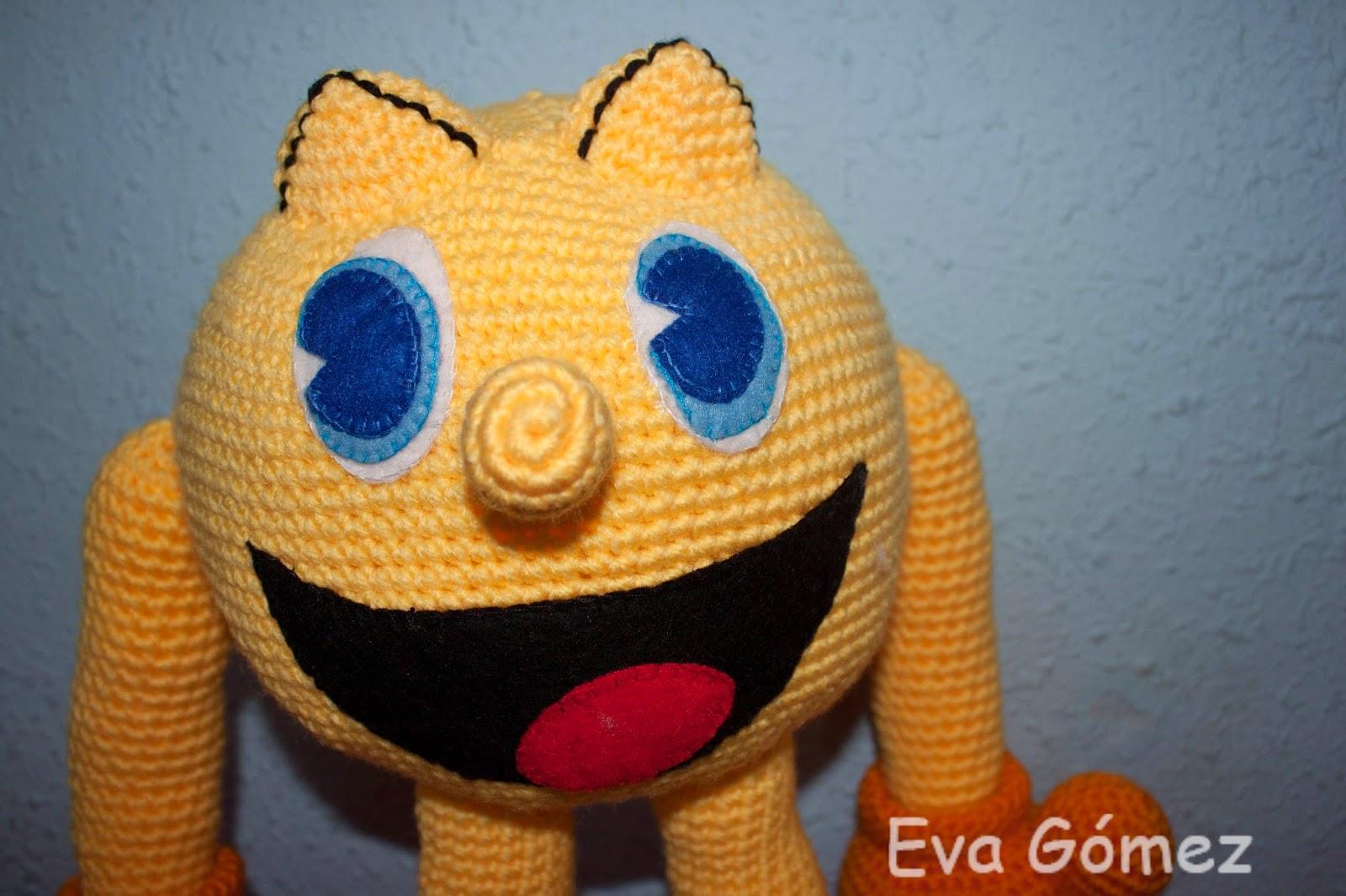 Amigurumi Pacman : Rupanteva: Pacman amigurumi