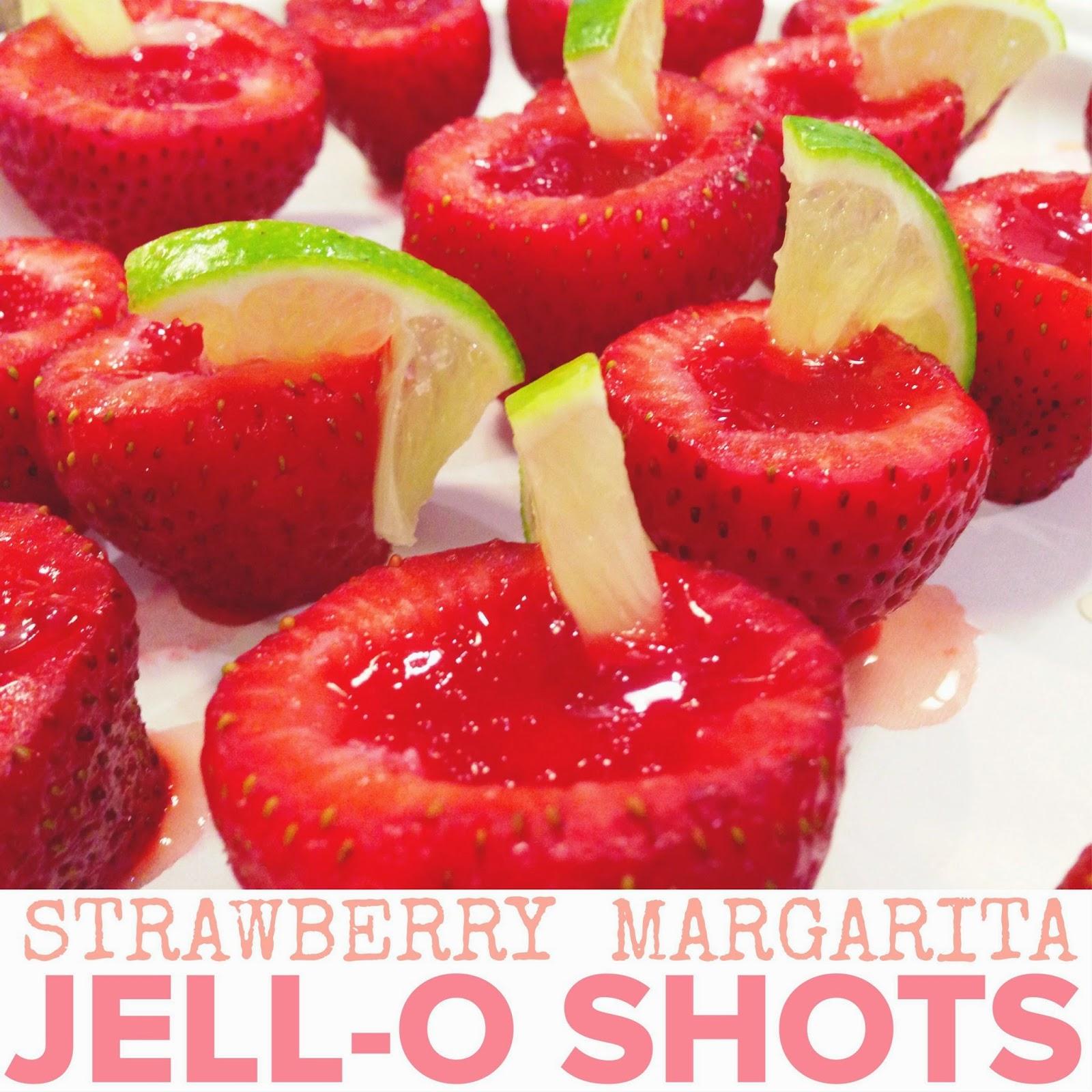 Edible Life in YYC: Strawberry Margarita Jello Shots