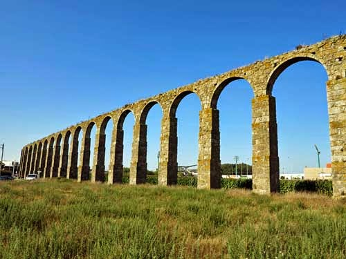 Aqueducts in Portugal.