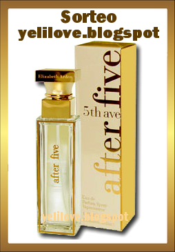 yeli love sorteo perfume 5th avenue elizabeth arden