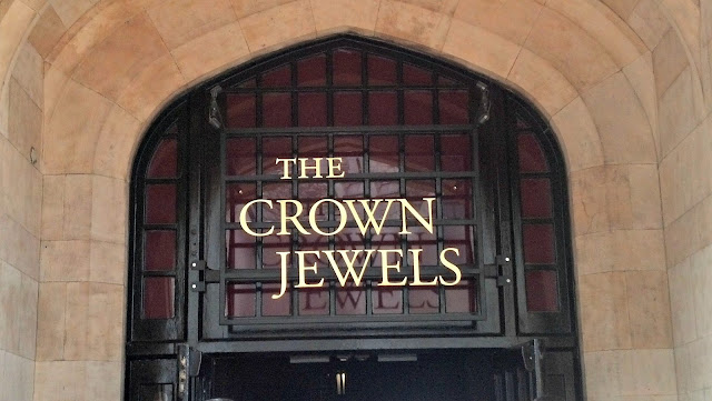 Crown Jewels in the Tower of London--must see!!