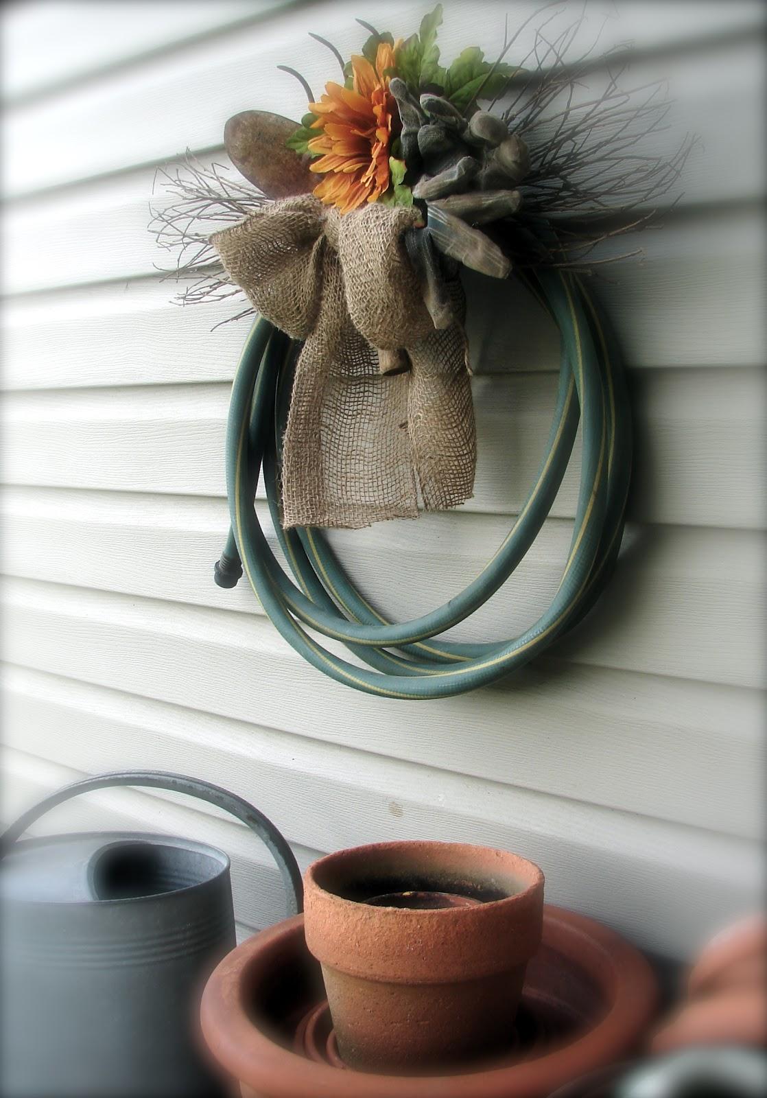Water Hose Wreath my Garden Hose Wreath Will